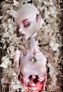 Image 4 - HeHeBJD 1/6 ay ve yıldız oyuncak bebek reçine bjd ücretsiz gözler ücretsiz kargo
