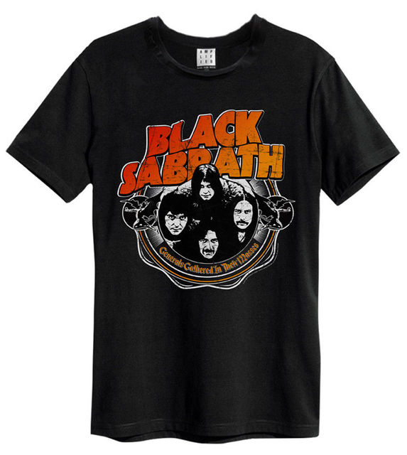 Black Sabbath War Pigs Black T Shirt Amplified Clothing New
