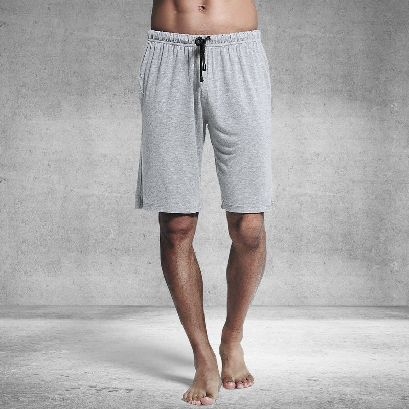 Sexy Solid Modal Home Shorts Men Sleep Bottoms Summer Breathable Loose Casual Male Pajamas Fashion Pyjama Short Homme MA50197