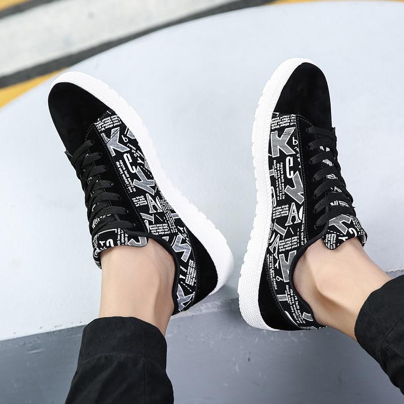 Sauvage À Personnalité La Hei Toile Chaussures Noir Casual Respirant Marée Hommes Étudiants Nouvelle Confortable bai Mode red Sneakers xX8qggI0