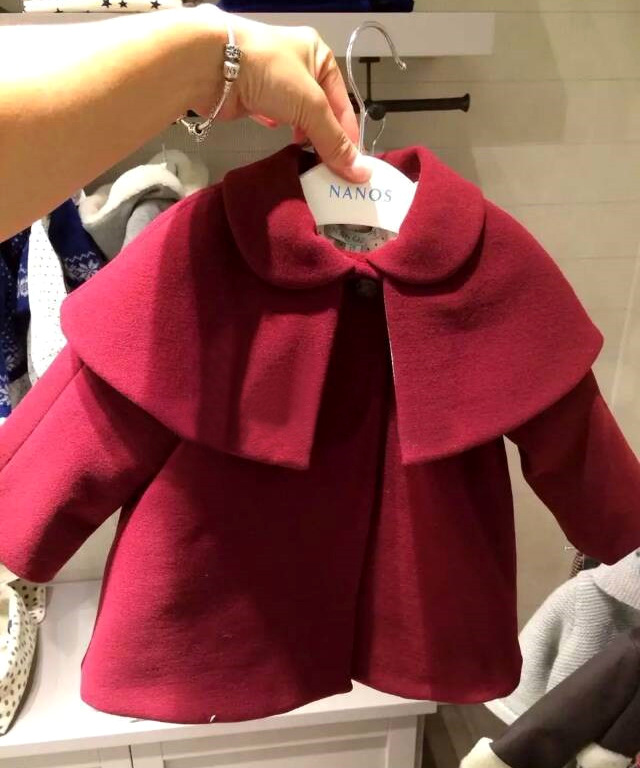 Red Coat For Baby Girl - JacketIn