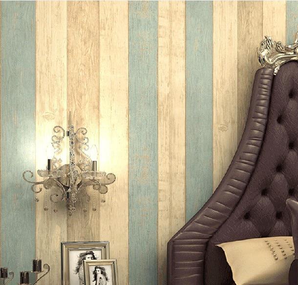 Buy mediterranean striped wallpaper for Vintage bedroom wallpaper