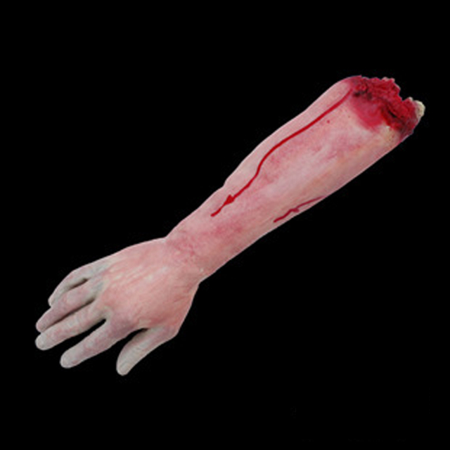 Gags Practical Jokes Gag Toys Halloween Haunted House Decoration Props Trick Funny Activities Break Finger Blood Hand Simulation