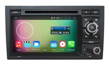 HD 1024*600 Quad core Android 5.1.1 Car DVD Player GPS for Audi A4 S4 RS4 Seat Exeo with Radio WiFi BT