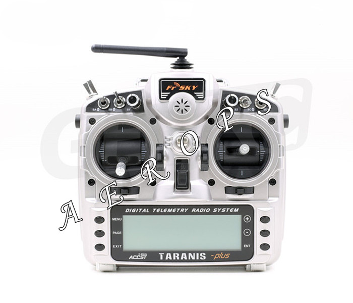 Aerops Original 2.4G 16CH ACCST Taranis X9D Plus Remote Controller Transmitter with x8r reciever battery For RC Airplane Model tarot rc frsky gps sensor with s port work with x8r x6r x4r receiverscompatible for rc airplane great addition to taranis setup