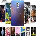 For Huawei Honor 6X Case Honor 6 X Silicone Soft Back Cover for Funda Huawei GR5 2017 Case TPU BLL-L21 Phone Cases Painting Para