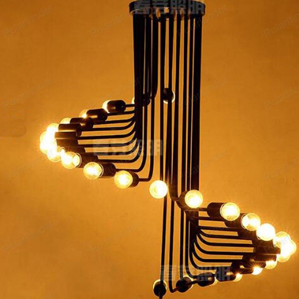 Zeitgenössische draht Hängen lampe minimalistische moderne lampe ...