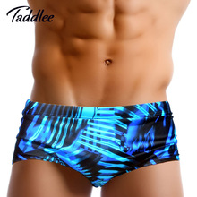 Taddlee Brand New Mens Brief Swimwear Swimsuits Sexy Men Swimming Bikini Gay Surf Board Shorts Men's Swim Boxer Shorts Trunks