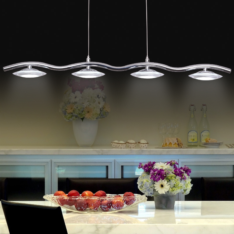 US $196.8 |Creative flying saucer UFO dining room kitchen pendant lights.  Modern Super bright 20W LED pendant lamp with Acrylic shade-in Pendant ...