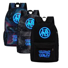 Dragon Ball Fluorescent Glow In Dark Backpacks