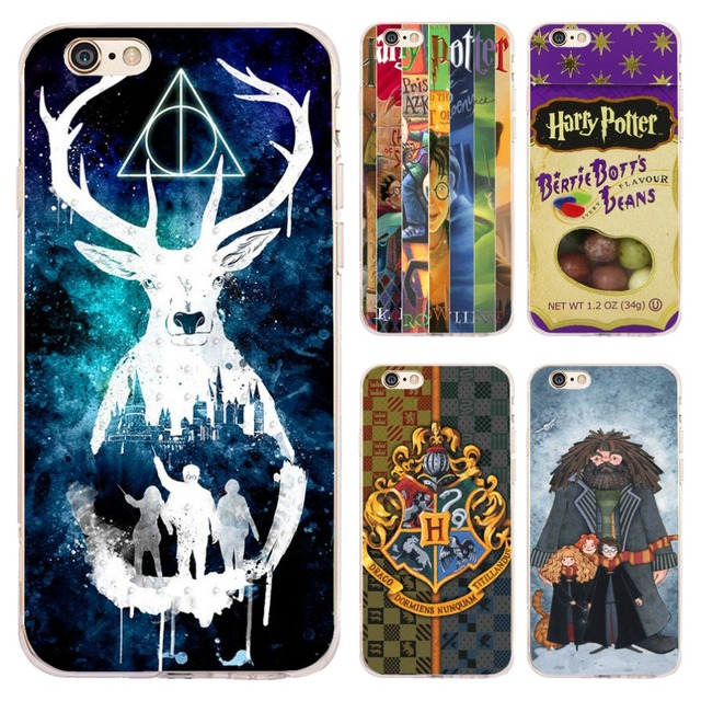best service 73782 6b8c5 US $4.98  Coque Harry Potter Candy Clear Soft Silicone Phone Cases for  iPhone XS Max XR X 7 8 6 6S Plus 5S 5 SE 5C 4S iPod Touch 6 5 Cover-in  Fitted ...