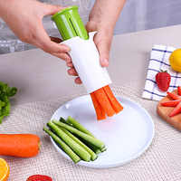 Rápida de Frutas e Vegetais Cortador de Legumes Dicer Cenoura Slicer Cortador De Cozinha Gadgets Vegetales Coupe Manuel Acessórios Ferramenta