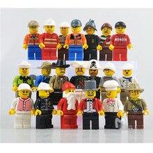 20pcs lot The Movie Characters Building Blocks Figures City Residents Brick Figures Compatible Bricks Toys