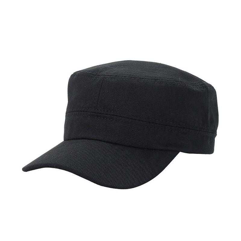 Korean   Baseball     Cap   For Woman Adjustable Army Cadet Style Hat Cotton   Cap   Men Women   Baseball     Caps   Trucker Hat