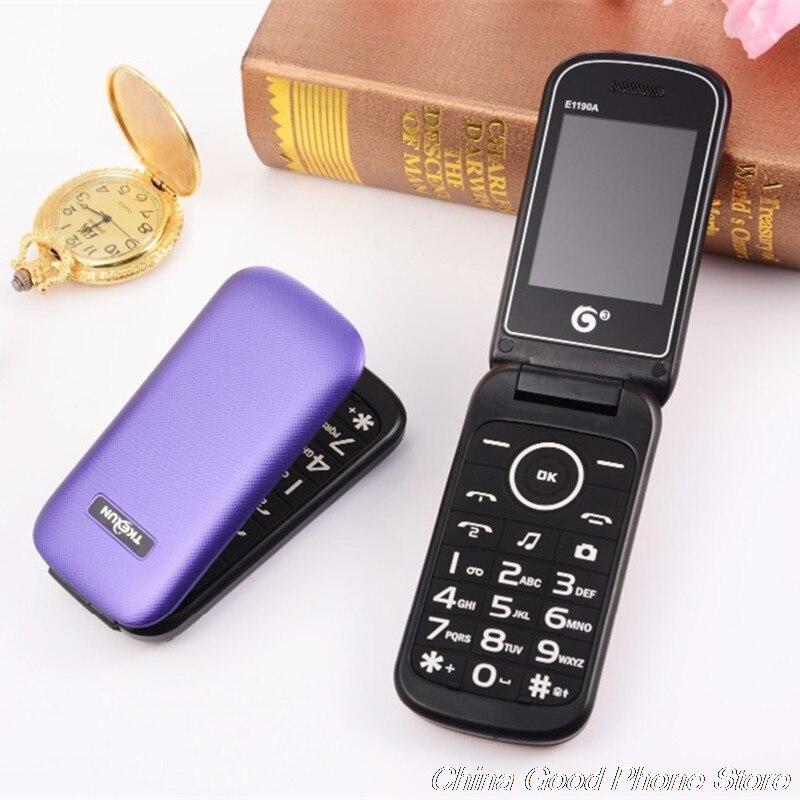 Dual SIM Flip Mobile Phone Bluetooth FM MP3 Vedio Cheap