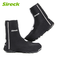 Sireck Winter Cycling Shoe Covers MTB Road Bike Shoe Cover Waterproof Windproof Warmer Shoes Cover Overshoes
