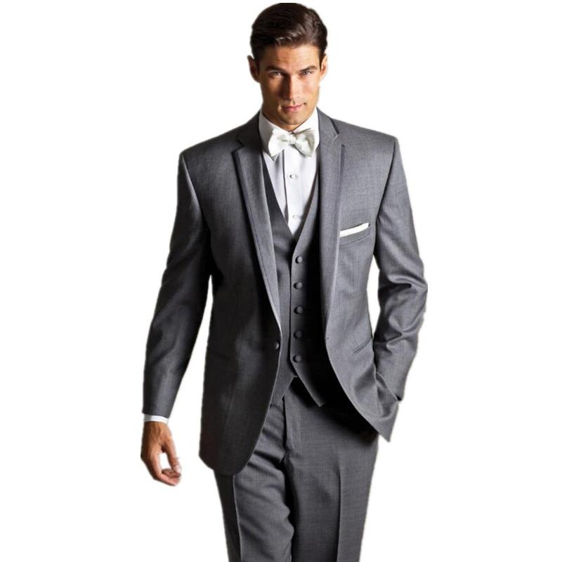 Marié Slim Qualité Gilet Pantalon Mode Mariage Vêtements Revers Fit Hommes De Costume Populaire Haute Robe Cravate Personnalisé veste 5CaB4y5