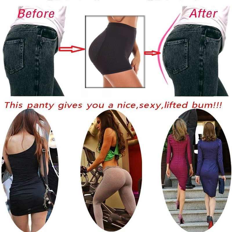 b6c6553086 ... NINGMI Big Ass Hip Enhancer Women Tummy Control Panties Waist Trainer  Sexy Underwear Padded Butt Lifter ...