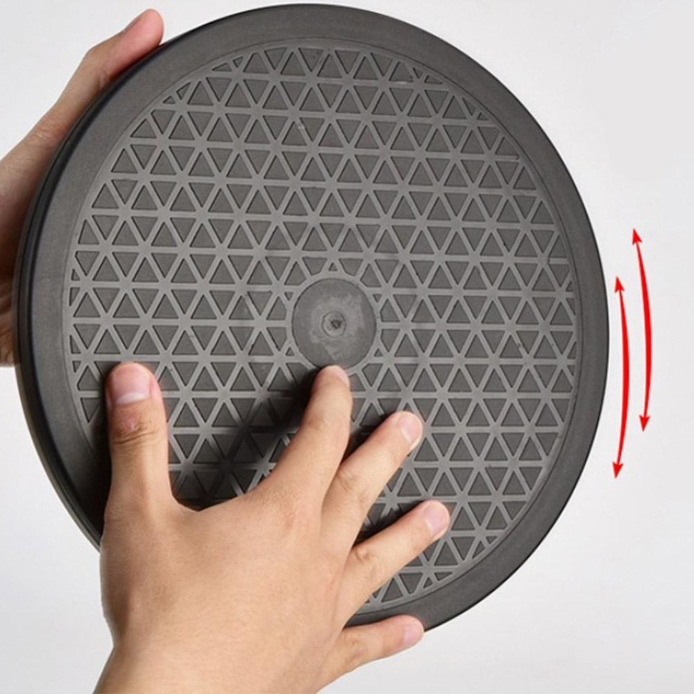 Multipurpose Rotating Turntable Lazy Susan 360-Swivel Home Kitchen Cake Food 220 Lb Capacity Dual Ring Ball Bearings