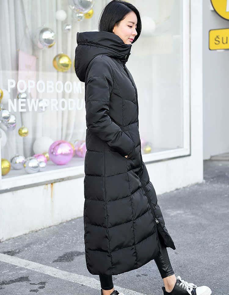 Women's Clothing Parkas Fast Deliver Hot Sale 2018 Winter Korean Plus Size 3xl Cotton Coat Clothing New Female Hooded Down Jacket Slim Solid Cotton Coat Long Parkas Be Novel In Design