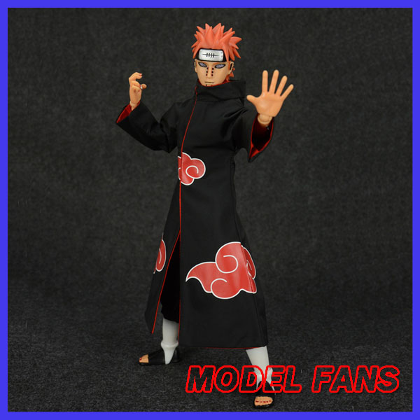 MODEL FANS NARUTO 30cm height 1/6 Akatsuki Pain action figure toy for Collection naruto kakashi hatake action figure sharingan ver kakashi doll pvc action figure collectible model toy 30cm kt3510