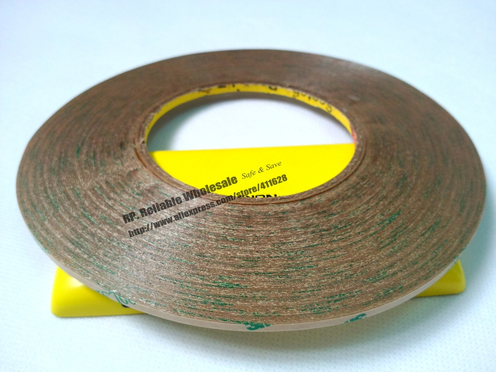2 рулона(3 мм* 55 м) теплостойкая Водонепроницаемая супер сильная адгезия 3 м 9495LE прозрачная лента для таблички пены ЖК-экран