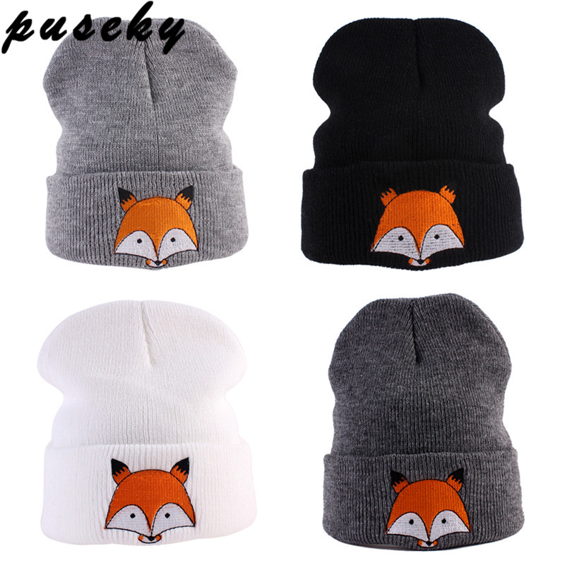 Boys' Baby Clothing Bnaturalwell Cute Baby Winter Fox Fur Hat Girls Boys 100% Real Fur Pompoms Ball Baby Beanies Cap Infant Knitted Beanies H064s