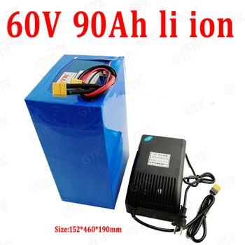 Batería de iones de litio GTK de 60V 90AH li ion con...