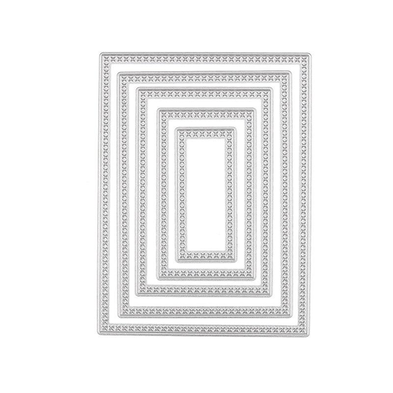 5 unids Metal Scrapbooking Troqueles De Corte Stencil para Álbum de - Artes, artesanía y costura