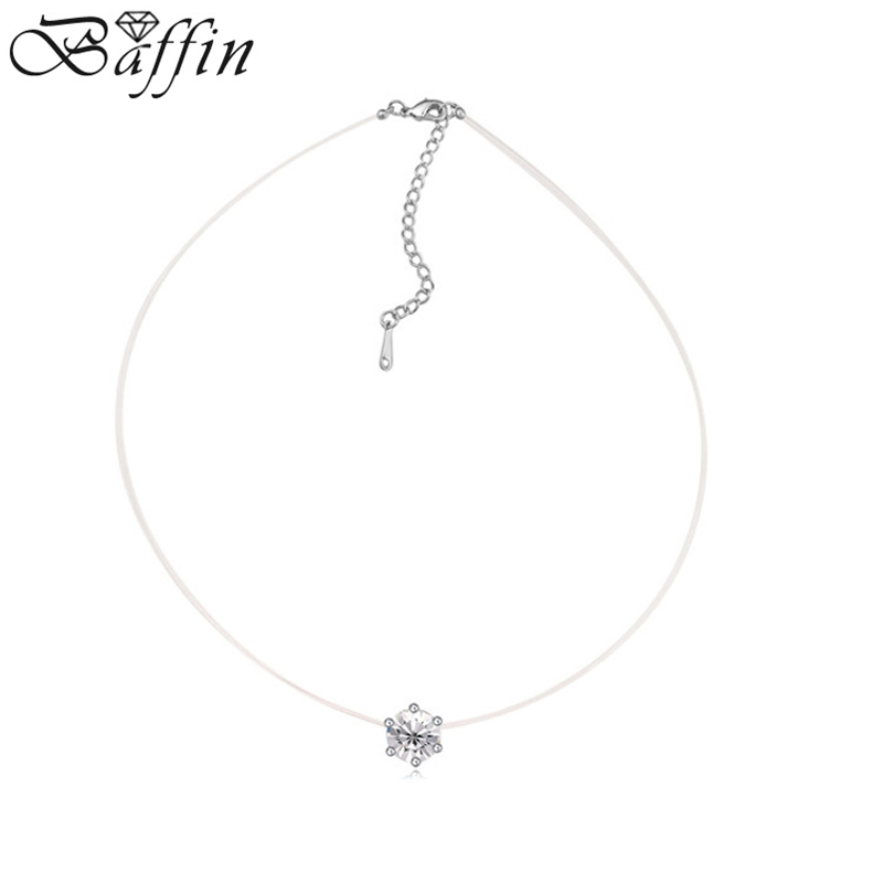 2016 New Original Crystals from Swarovski Choker Necklaces Infinity Chain Necklace Fashion Jewelry For Women Party Accessories