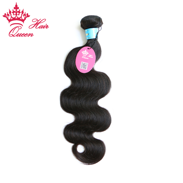 """Queen Hair Products Cambodian Virgin Hair Body Wave 1 pc 100% Human Hair Weave Wavy Cambodian Hair 8""""-30"""" DHL Free Shipping"""