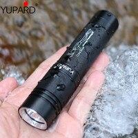 YUPARD Tauchen taucher laterne XM L2 T6 led Wasserdichte unterwasser Weiß gelb Licht Taschenlampe lampe + 18650 batterie + ladegerät-in LED-Taschenlampen aus Licht & Beleuchtung bei