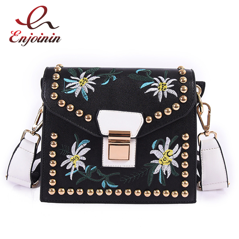 New design fashion style embroidery flowers rivet buckle flap ladies shoulder bag handbag purse crossbody messenger bag 2 colors gigabyte ga h77m d3h original used desktop motherboard h77m d3h h77 lga 1155 i3 i5 i7 ddr3 32g sata3 micro atx