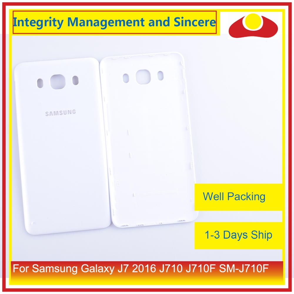 Image 2 - 50Pcs/lot For Samsung Galaxy J7 2016 J710 SM J710F J710M J710H J710FN Housing Battery Door Rear Back Cover Case Chassis Shell-in Mobile Phone Housings & Frames from Cellphones & Telecommunications