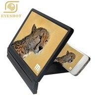 Draagbare Gsm-scherm Vergrootglas Ogen Bescherming Display 3D Video Screen Versterker Vouwen Vergrote Expander Standhouder