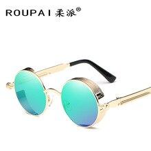 488eaf146ab Retro Round Box Polarized Sunglasses Classic Men And Women Factory Direct