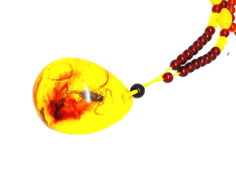 все цены на Koraba Fine Jewelry new Amber Scorpion Pendant Insect droplets Pendant 5*4cm Free Shipping онлайн