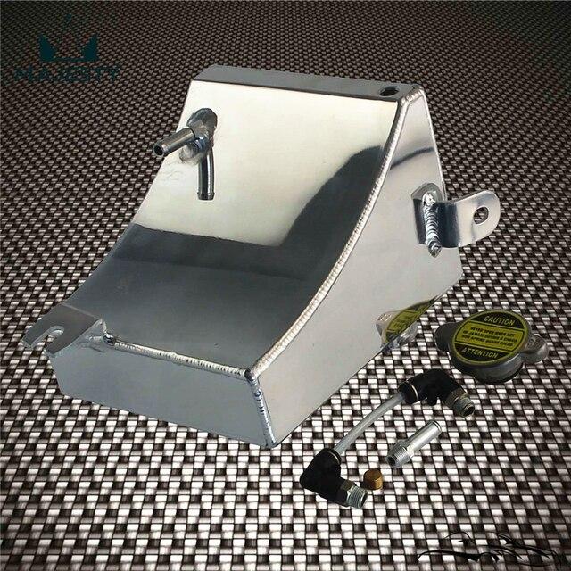 Réservoir de liquide de refroidissement en alliage   Kit de réservoir adapté aux 240SX S13 SR20DET KA24DE KA24E