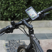Oloey Bicycle Case Waterproof Touchscreen Bicycle Bag Cycling Top Frame Handlebar Bag 4'' Phone Case for iphone 5 5s 5c