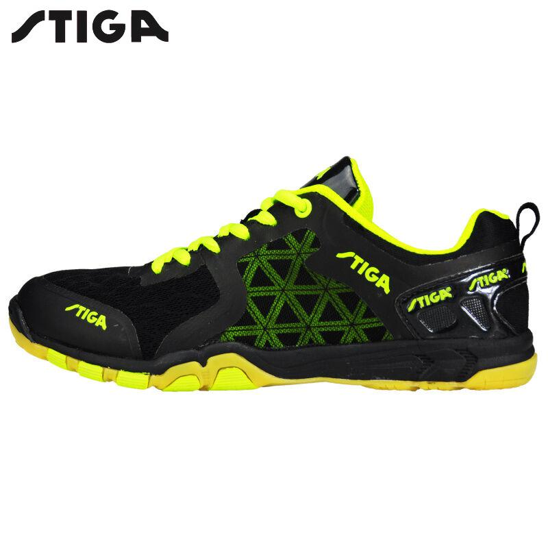 Stiga table tennis shoes Sports Sneakers Mens Stability Anti slip Zapatillas Deportivas Mujer ping pong racket