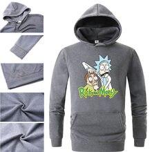 d55471dc2 2018 Men/Woman Hip Hop Cool Rick Morty Hoodie Fashion Brand Clothing  Character Sweatshirts Men