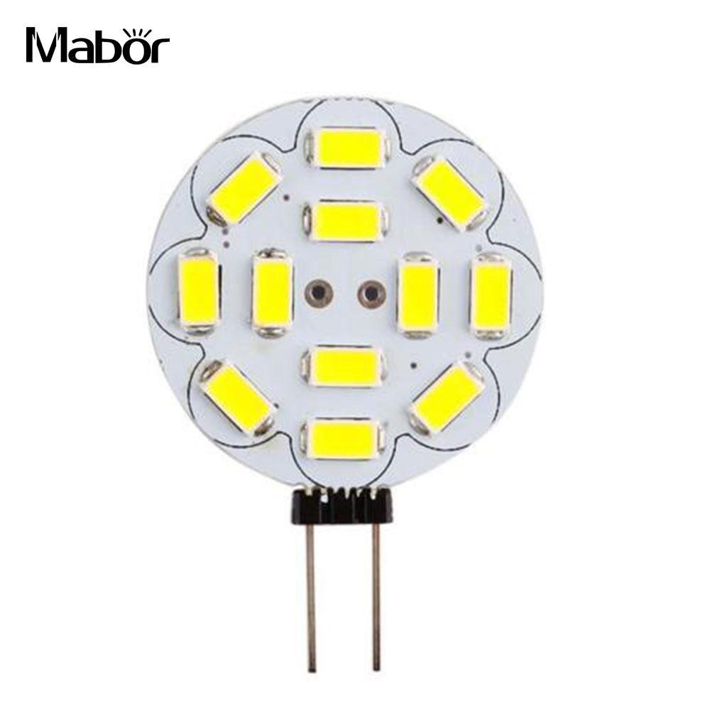 Mabor Lamp Bulb Energy Saving BedroomG4 DC12V SMD 5730 Household Supply White/Warm White Room Lighting LED Bulb Reading Room