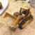 6ch rc camión bulldozer caterpillar pista de simulación de control remoto carro de la ingeniería de construcción de juguete modelo de regalo de navidad 6822l