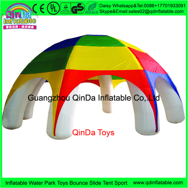 6  legs inflatable car garage tent inflatable party tent,canopy tent outdoor