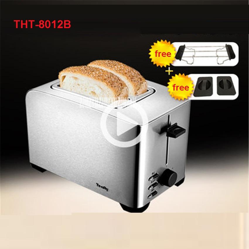 THT-8012B High Quality Household Appliances All stainless steel toaster 220V/50hz multifunctional breakfast 750W Toasters silver пена монтажная mastertex all season 750 pro всесезонная