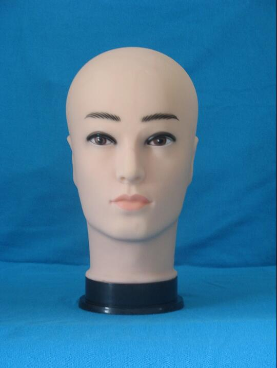training doll female head display stand manikin,mannequin for wig salon for hair dresser,Plastic Head ,freeshipping