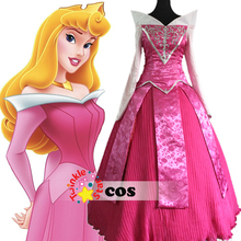 custom made princess Aurora dress sleeping beauty Halloween princess Aurora costume for adults Aurora cosplay dress