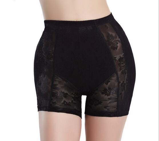 Women Abundant buttocks pants Padded Bottom Tummy Luxury fake hip lace Control Body Shaper Slim fake ass underwear