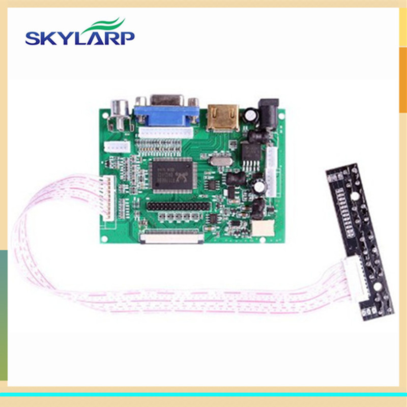 skylarpu 7 inch LCD Screen TFT Monitor for AT070TN90 HDMI VGA Input Driver Board Controller for Raspberry Pi (without touch) 9 inches for raspberry pi lcd display screen tft monitor at090tn12 with hdmi vga input driver board controller