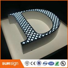 Reklama zewnętrzna metalowe litery led lettre lumineuse sign tanie tanio shsuosai CN (pochodzenie) blister led sign 0012